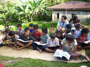 A Reading Gardens for the Kids in Nara Village