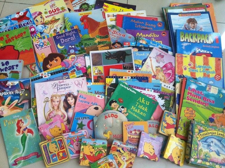 Donasi Buku 'Keibuan'