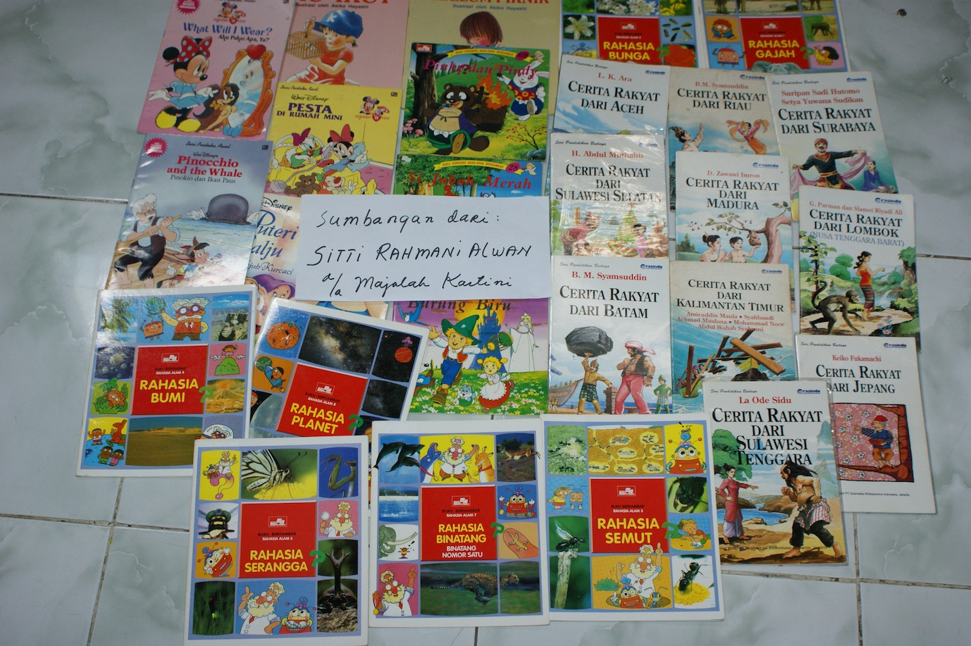 Always Happy to Receive Book Donation!