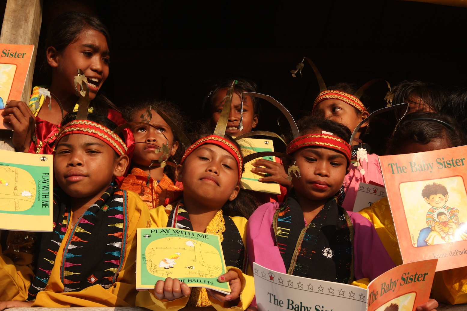 Celebrating Int'l Literacy Day with the Pearson Publishing & The Asia Foundation