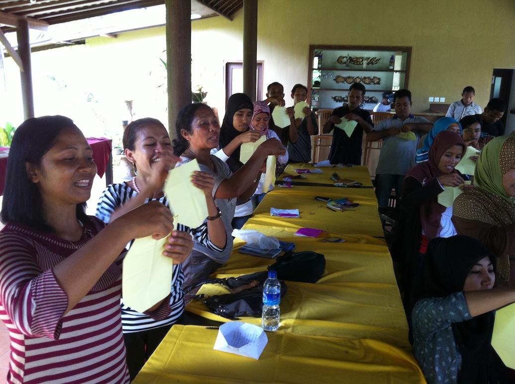 Workshop Relawan untuk Meningkatkan Literasi Anak