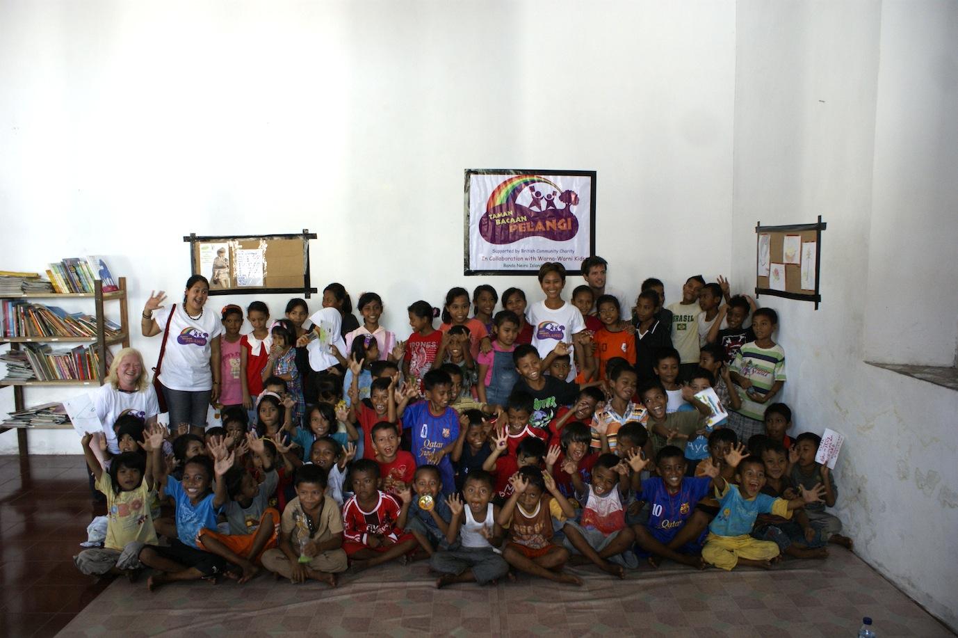 Perpustakaan ke-25: Pulau Banda Neira, Maluku