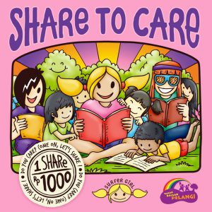 Share to Care campaign by Surfer Girl for Rainbow Reading Gardens