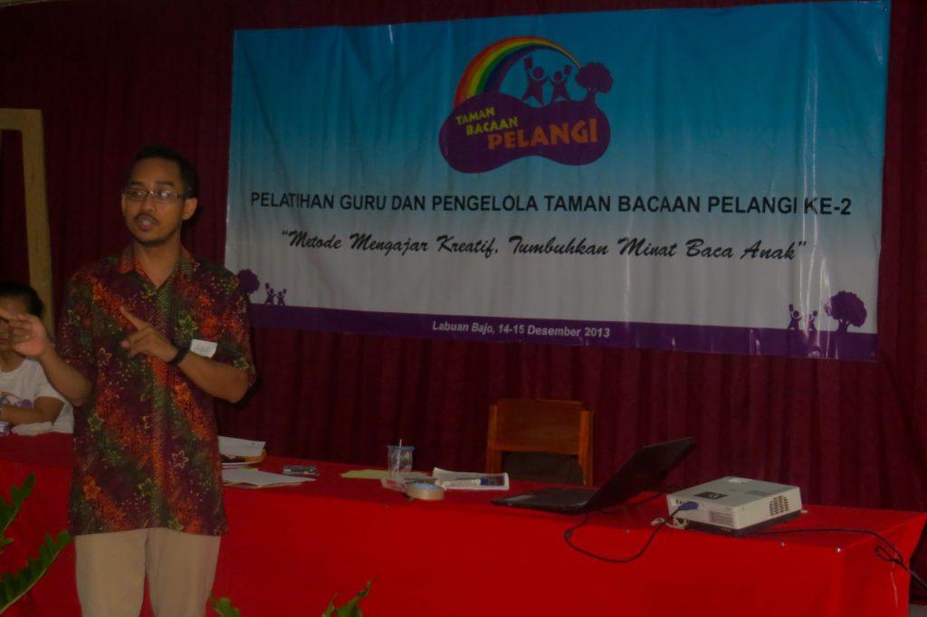 Mr. Agus Sampurno, the speaker.