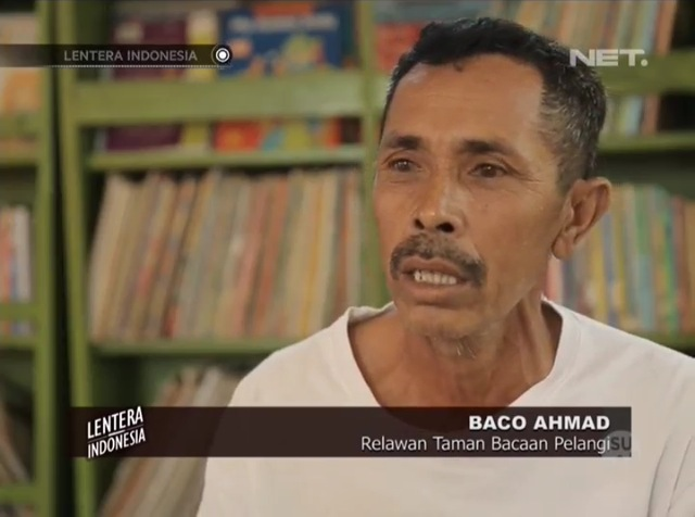 Pak Baco, our volunteer on Rinca Island