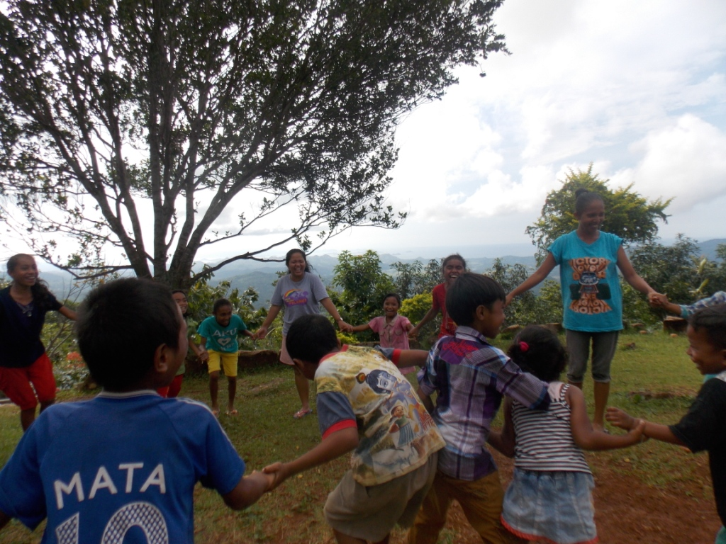 Satu Hari Baik di Taman Bacaan Pelangi Kampung Melo