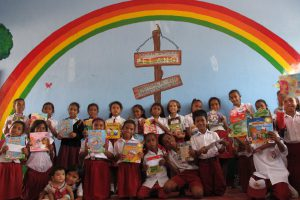 Wae Nakeng Primary School Opens New Rainbow Reading Gardens Library