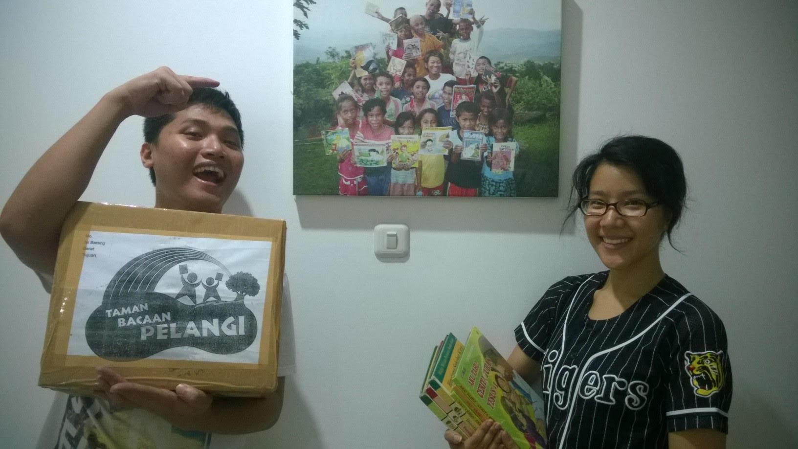 Donasi Buku dari Paroki Santo Yohanes Bosco Jakarta
