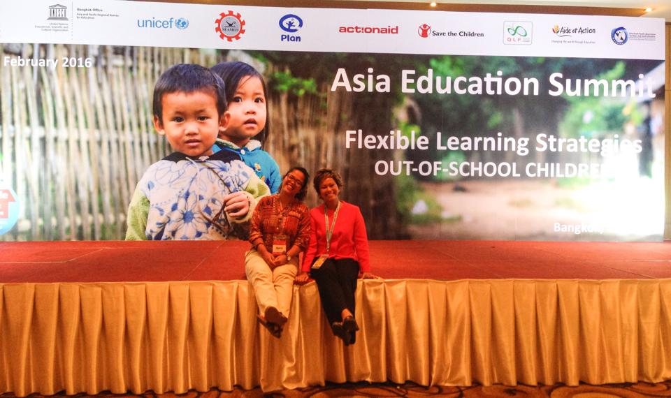Rainbow Reading Gardens Participates at the Asia Education Summit