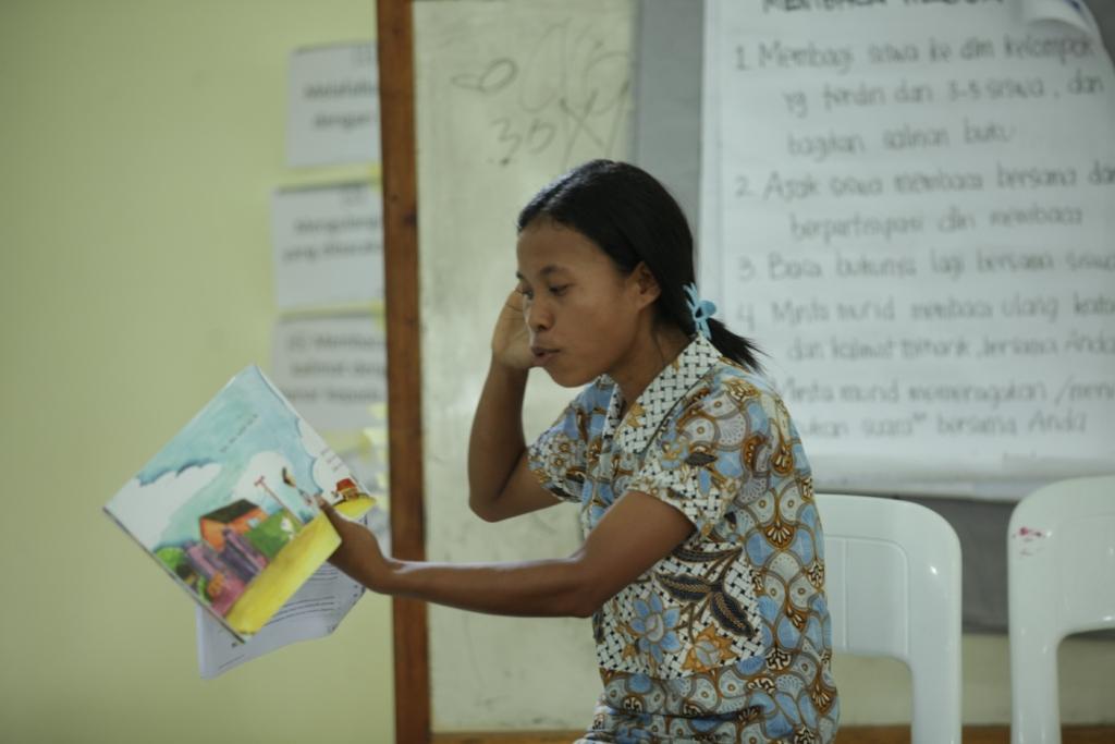 Pelatihan Kegiatan Membaca di Perpustakaan untuk Kepala Sekolah & Guru: Ketika Cerita di Buku Menjadi Hidup