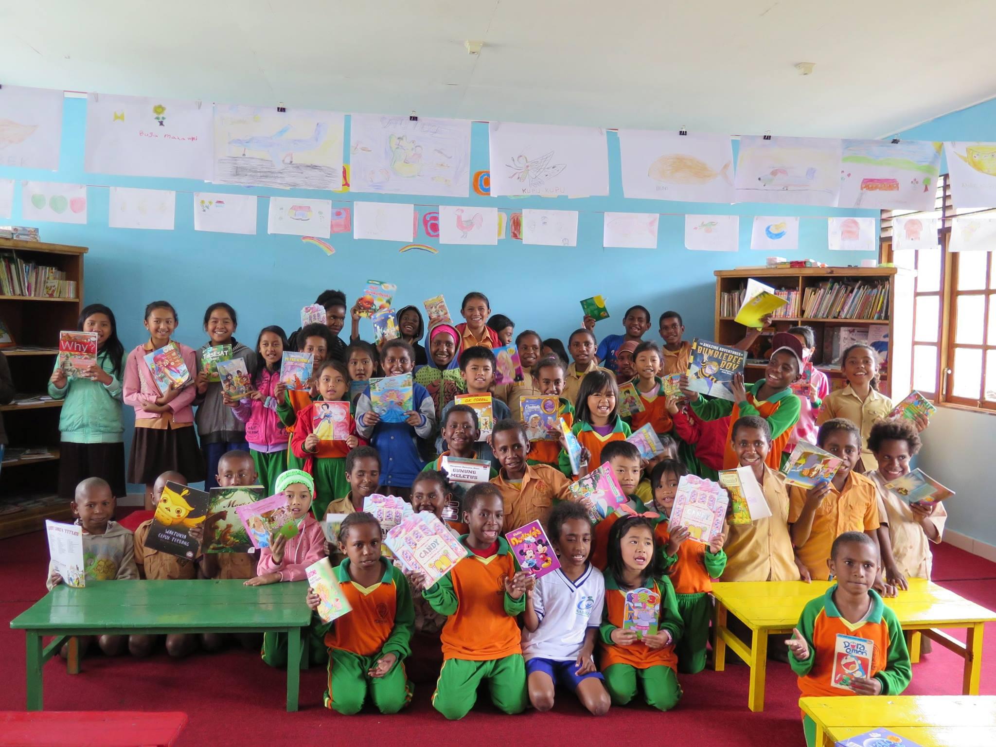 Pelangi di Jantung Papua