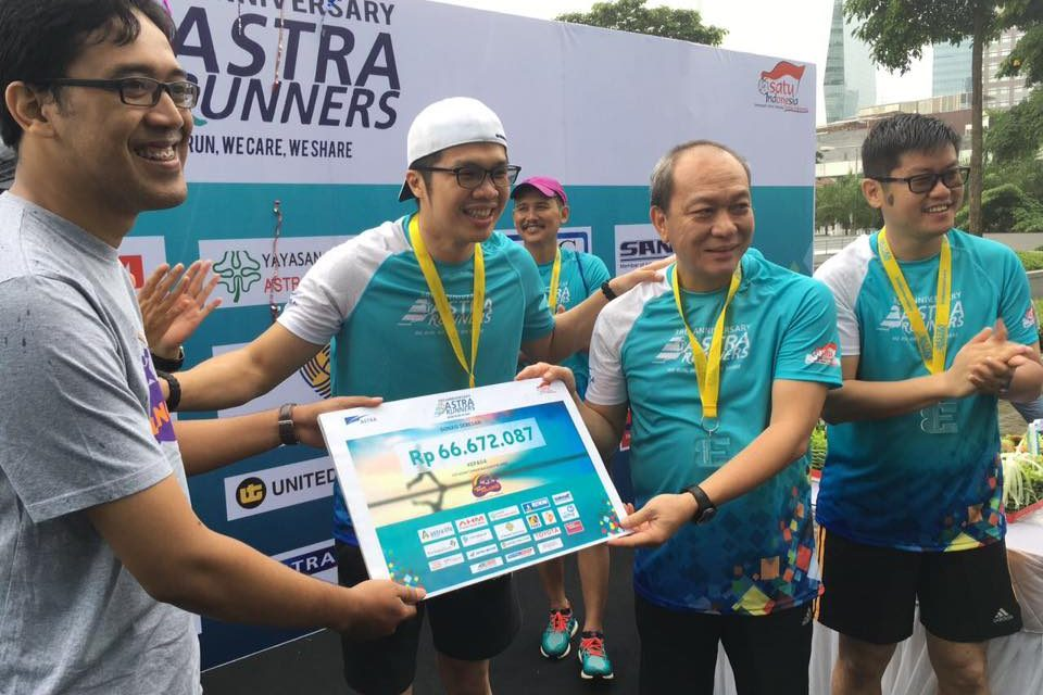 Thank You, Astra Runners!