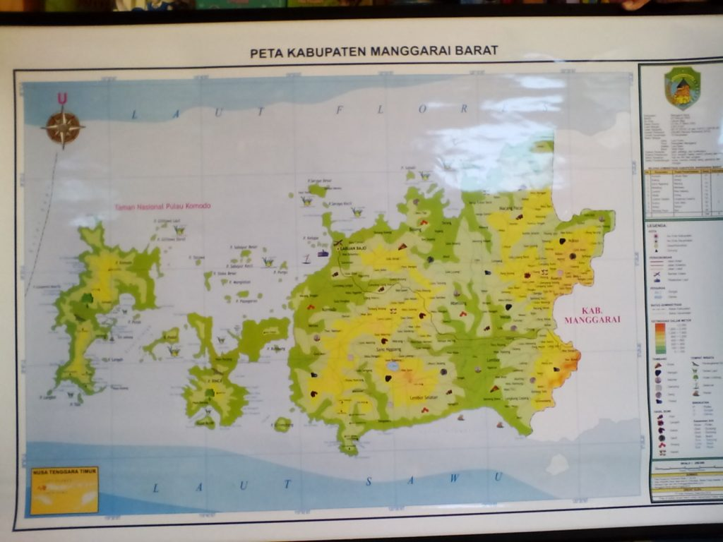 A Map We Borrowed from SDN Labuan Bajo 2