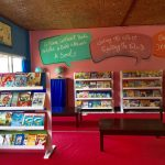 Our Newly Relocated Library in Sumbawa Besar!