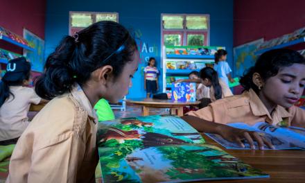Perpustakaan TBP Ke-47 di SD Inpres Namo, Lembor Selatan, Manggarai Barat, NTT