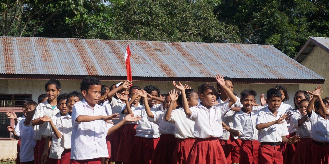 Perpustakaan Baru TBP Ke-48 di SDI Lengkong Kaca, Manggarai Barat.