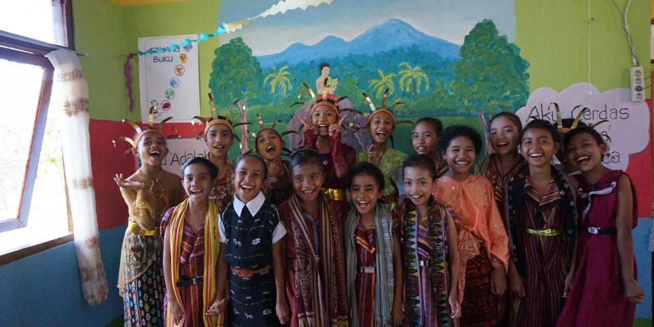Perpustakaan Baru TBP Ke-49 di SDK Rekas 1, Kabupaten Manggarai Barat, NTT.