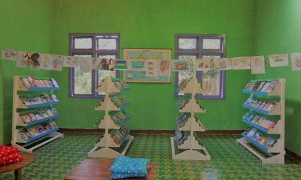 Perpustakaan TBP ke-50 di SDI Wae Moto, Mbeliling, Manggarai Barat, NTT