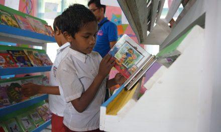 Perpustakaan TBP ke-52 di SDK Wae Bangka, Manggarai Barat, NTT
