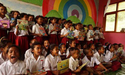 Perpustakaan TBP Ke-51 di SD Inpres Beci, Lembor, Manggarai Barat, NTT