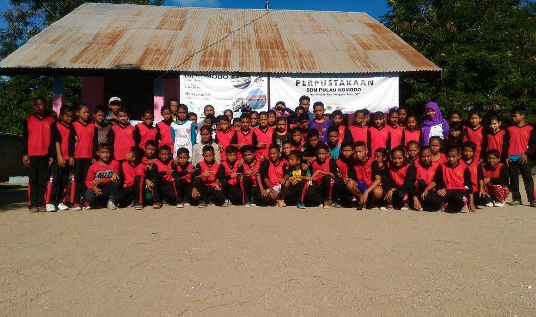 Mengejar Pelangi di SDN Pulau Komodo