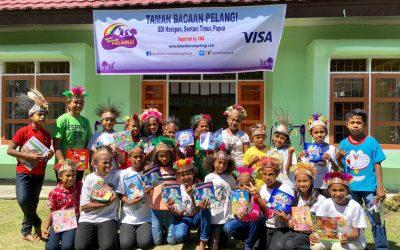 Reaping Hope at SD Inpres Harapan, Papua