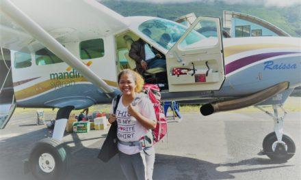 Naik Motor Udara ke Puncak Jaya
