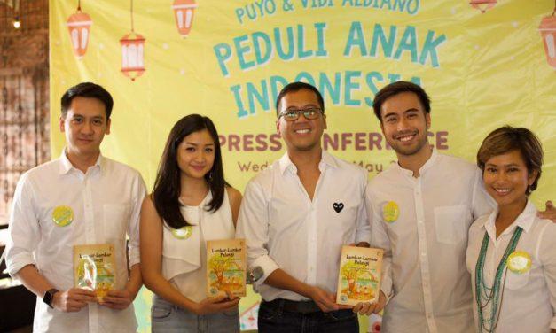 Puyo Desserts & Vidi Aldiano Launch Peduli Anak Indonesia Campaign