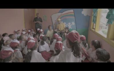 "Taman Bacaan Pelangi is on Vidi Aldiano's ""Definisi Bahagia"" Video Clip"