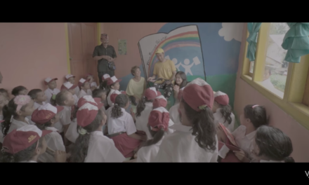 "Taman Bacaan Pelangi is on Vidi Aldiano's ""Definisi Bahagia"" Video Clip"