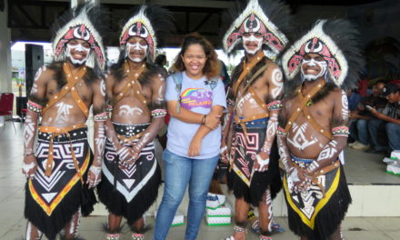 Taman Bacaan Pelangi Berlabuh di Sorong, Papua Barat