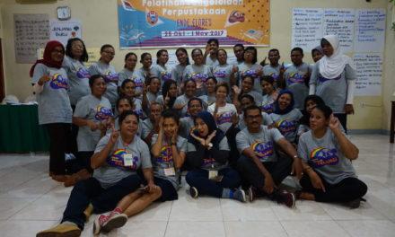 Pelatihan Pengelolaan Perpustakaan di Ende, Flores: Menciptakan Perpustakaan Ramah Anak