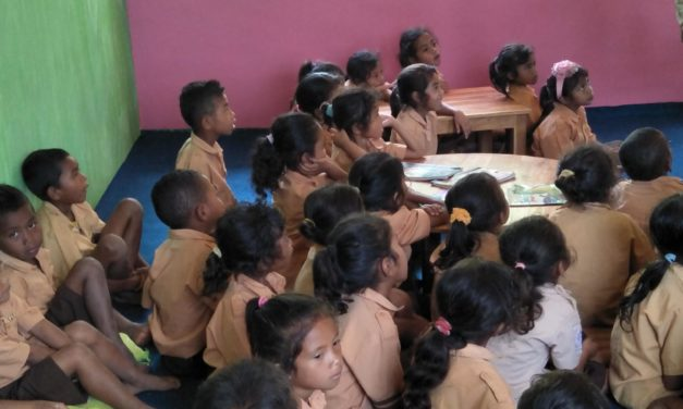 The spirit of learning of children in West Manggarai