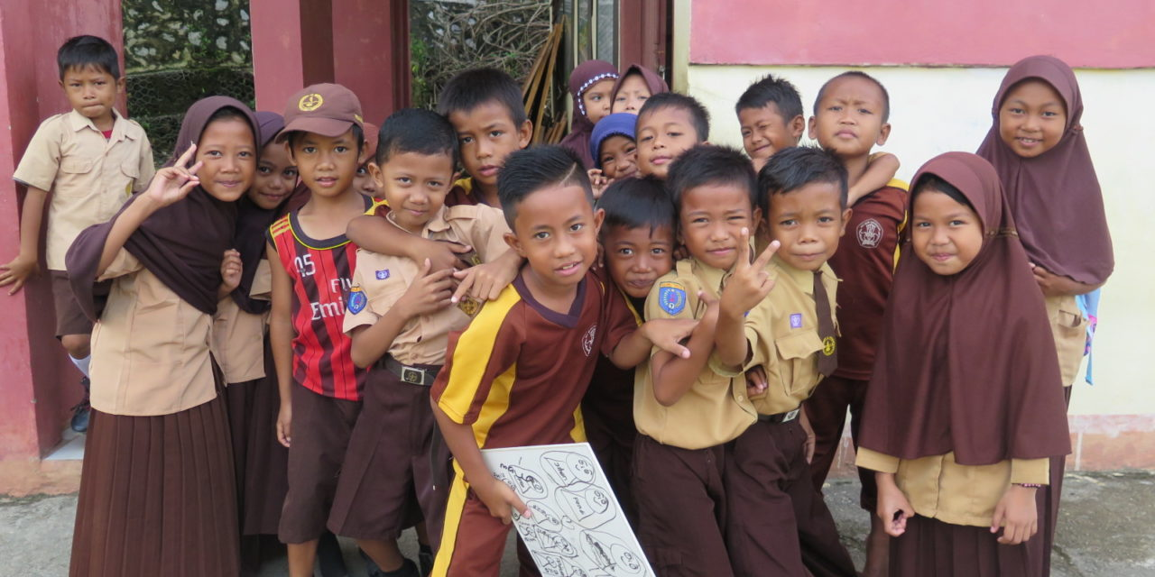 Taman Bacaan Pelangi Berlayar ke Tanah Tolaki, Sulawesi Tenggara