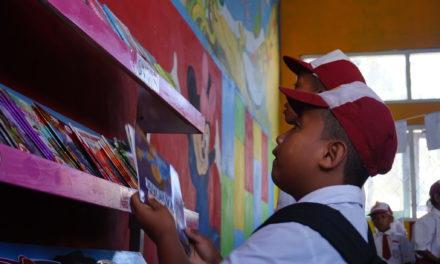 Peresmian Perpustakaan #TBPelangi ke-69 di SDN Roja 6, Kab. Ende, Flores, NTT