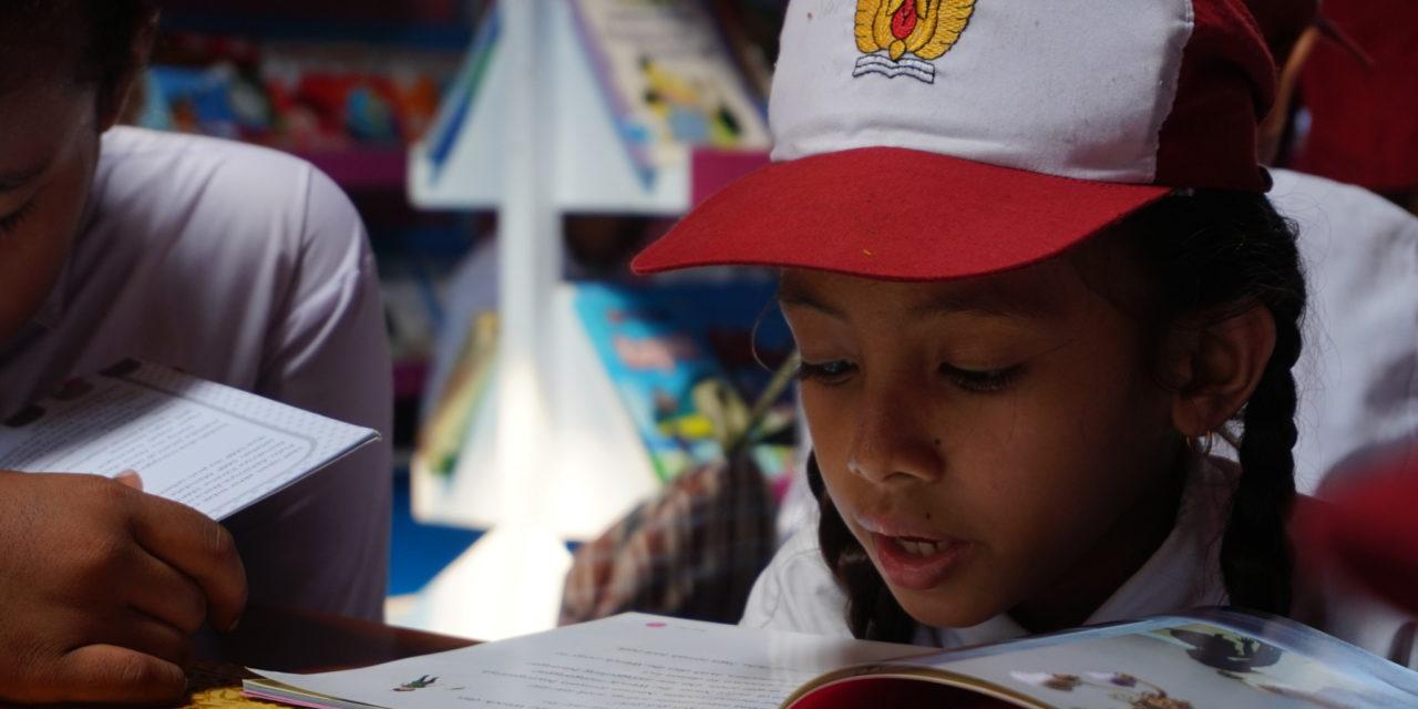 Peresmian Perpustakaan #TBPelangi ke-73 di SDI Roja 2, Kab. Ende, NTT