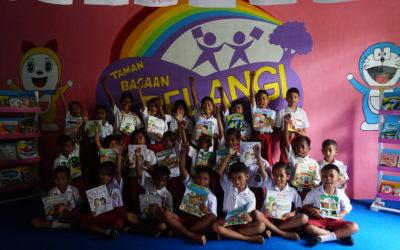 Peresmian Perpustakaan #TBPelangi ke-76 di SDI Ende 12, Kab. Ende, Flores, NTT