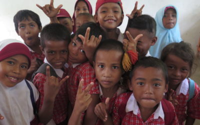 Taman Bacaan Pelangi Berlabuh di Pulau Buton, Sulawesi Tenggara
