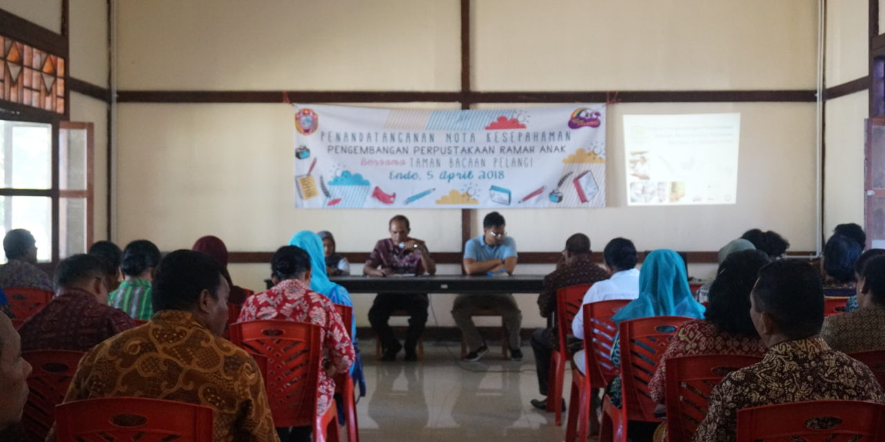 Penandantangan Nota Kesepahaman dengan 20 Sekolah di Kab. Ende, Flores, NTT