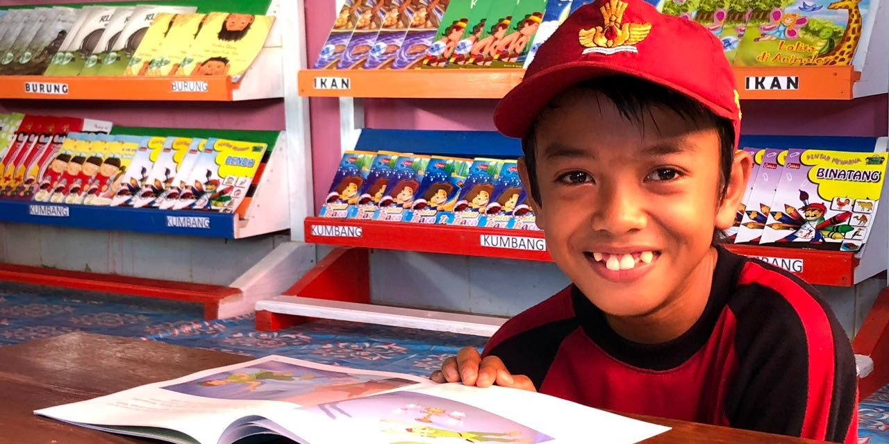 A STORY OF OUR 82nd LIBRARY – A COLORFUL LIBRARY FOR THE PATCHOULI FARMERS' CHILDREN IN SOUTHEAST SULAWESI