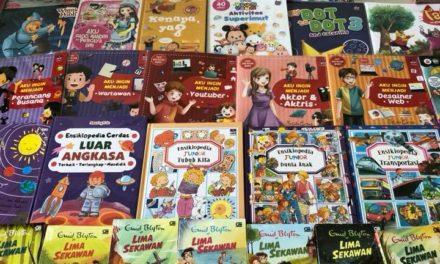 Donasi Buku Cerita dari Blibli.com
