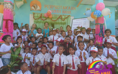 BOOK FRENZY MORNING: INAUGURATION OF THE 73RD #TBPELANGI LIBRARY AT SDI WATUJARA, EAST ENDE, KAB. ENDE