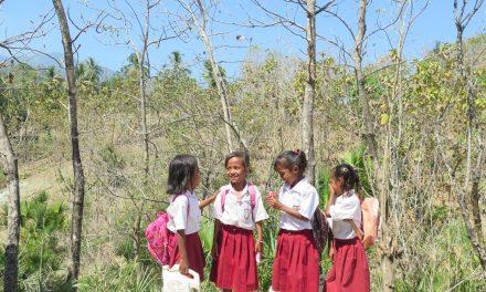Anak-anak Ramai Sekali di Atambua