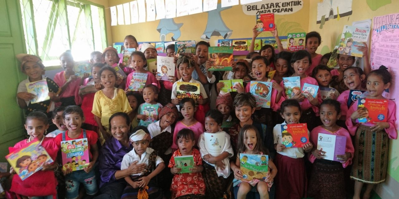 SMALL COMMUNITY, SPIRITED COMMUNITY : INAUGURATION OF THE 95TH #TBPELANGI LIBRARY AT SDK NANGAKEO, ENDE, ENDE DISTRICT