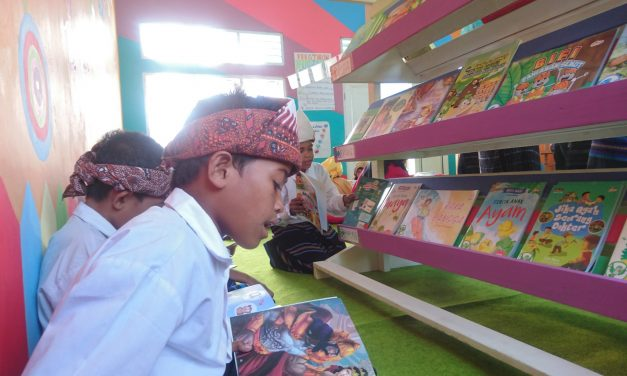 WITH FLYING COLORS: INAUGURATION OF THE 97TH #TBPELANGI LIBRARY AT SDI METINUMBA 1, ENDE ISLAND, ENDE DISTRICT