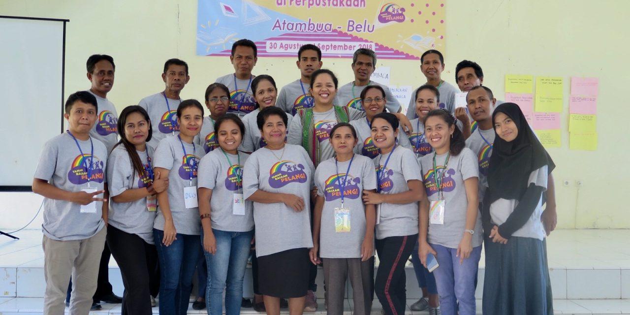 Pelatihan Guru di Atambua: Diskusi yang Hidup