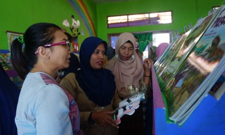 Inauguration of the 99th Rainbow Reading Gardens Library at SDN Puutara, Pulau Ende, NTT