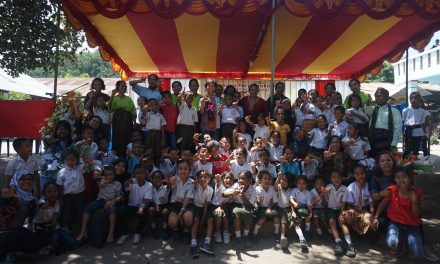 Peresmian Perpustakaan Taman Bacaan Pelangi ke-100 di SD Katholik Nangapanda 1, Ende, Flores, NTT