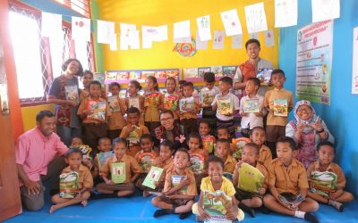 THEY CAME, THEY SAW, THEY READ: INAUGURATION OF THE 103RD #TBPELANGI LIBRARY AT SDK DETUMBAWA, EAST ENDE, ENDE DISTRICT