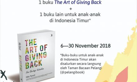 The Art of Giving Back by Nila Tanzil